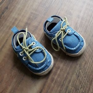 Adorable Denim Baby Shoes